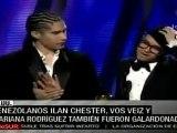 Juan Luis Guerra y Camila dominan en los premios Grammy Latino
