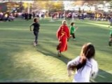 Harry Potter fans play in the Quidditch World Cup