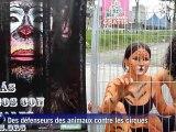 Colombie: contre les cirques, des défenseurs des animaux en cage