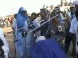 Chant des jeunes filles d'Agadez à la candidate Mme BAYARD