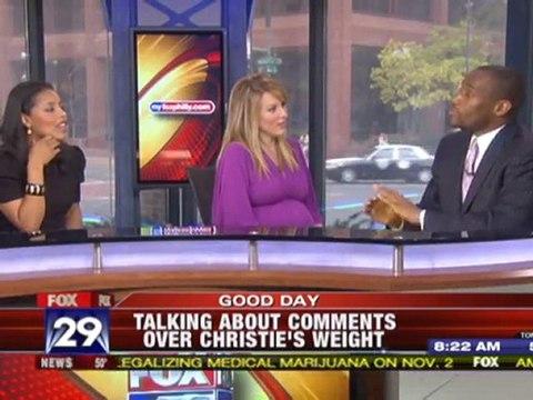 Marc Lamont Hill on WTXF re: Christie Comments