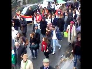 Manifestation de soutien aux chrétiens d'Orient à Paris
