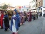 Desfile de Penitentes en la Feria LAKUERTER  Andorra(Teruel)