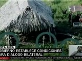 Costa Rica establece condiciones para diálogo bilateral