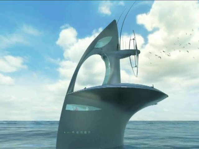 SeaOrbiter : un laboratoire océanographique flottant