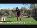 Golf Backswing Stretch With A Driver