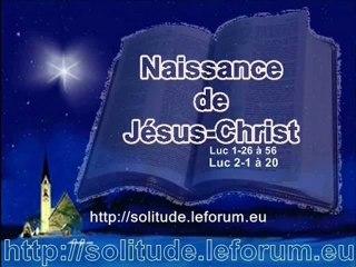 La NAISSANCE de Jésus-Christ