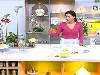 recette choumicha gâteaux aux fruits et coco