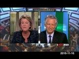 Villepin sur interview de Nicolas Sarkozy