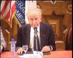Elie Wiesel - intervention au C-U-M Nice - partie 2