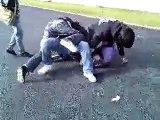 Combat de rue marrant