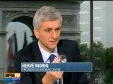 Hervé Morin avec Jean-Jacques Bourdin sur RMC Info - BFM TV