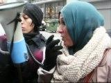 Libérez ALI AARRASS rassemblement ambassade espagne J2