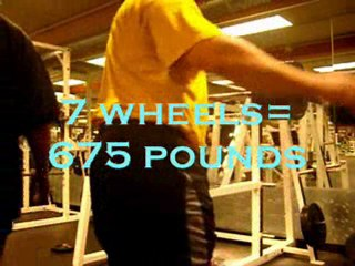 carlos last 1 rep max training for legs 2 weeks out