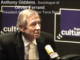 Vidéo de Anthony Giddens