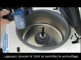 AWELock centrifugeuse - changement de rotor sans outils