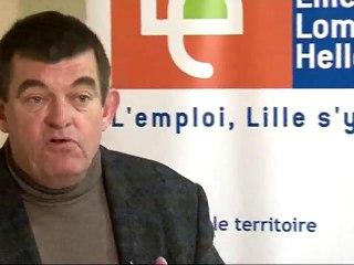 Bernard CHARLES, Pdt de la Maison de l'Emploi de Lille