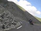Moto dans les Alpes du sud en 2009