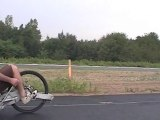 tricycle velo couché ligfiets hpv trike recumbent rameur