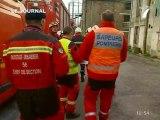 500 pompiers en exercice (Loire Atlantique)