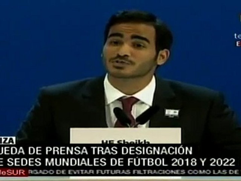 Qatar será sede del Mundial en 2022