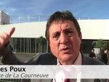 Interview de Gilles-Poux, maire de La Courneuve