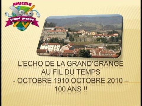 L'écho de la Grand'Grange au fil du temps de Octobre 1910