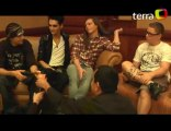 Interview with Tokio Hotel in Lima, Peru. - 24.11.2010