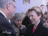 Michel Mercier en visite dans l'Essonne