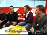 ROBBIE WILLIAMS & TAKE THAT RTL BOULEVARD INTERVIEW