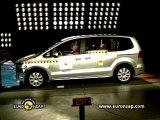 VW Sharan Crash Tests 2010