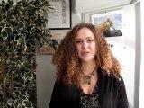 Emilie Polak s'esplique a l'Espace Talent du Point Conseil