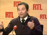Benoît Hamon, porte-parole du Parti socialiste : La candida