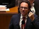 Frédéric Lefebvre (encore) chahuté à l'Assemblée