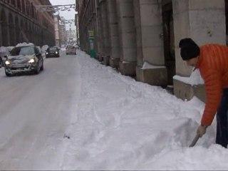 Chambery : la plus grosse chute de neige depuis 20 ans