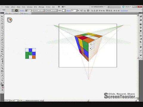 Tutorial illustrator CS5- outil dessin en perspective