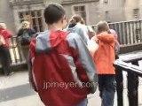 Scotland travel: Royal Mile, Edinburgh, corner Bank and...