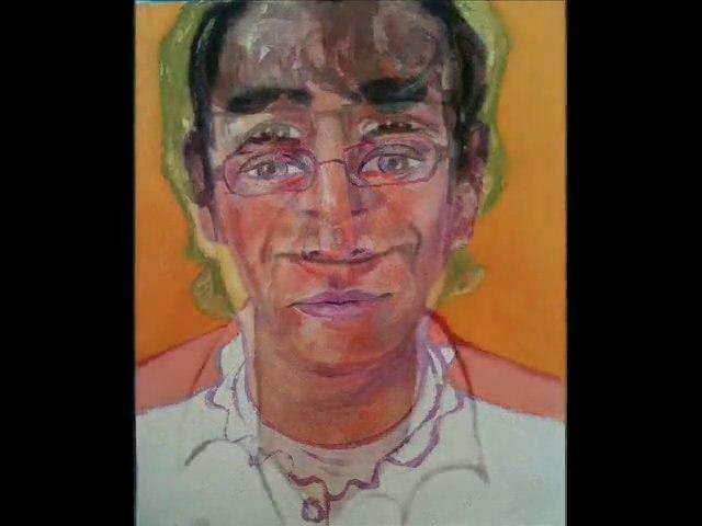 90 portraits à l'huile sur toile réalisés par Lecca