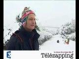 Télézapping  : C'est dans l'Ouest qu'il neige le plus fort