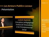 Les Acteurs Publics Locaux, 1 - Présentation du cours