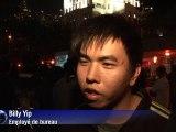 Rassemblement à Hong-Kong pour la libération de Liu Xiaobo