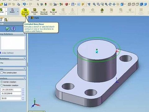 Solidworks ile Katı Model Tasarlama