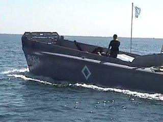 LCVP Higgins boat, Opération 2010, essais à la mer