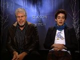 Ron Perlman and Robbie Sheehan - Season of the Witch Part 1
