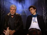Ron Perlman and Robbie Sheehan - Season of the Witch Part 2
