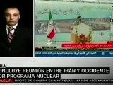 Irán y potencias occidentales dialogan sobre programa nuclear