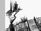 Croquis de paysage imaginaire