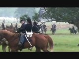 Gettysburg Civil War Reenactment, Confederate Artillery vs