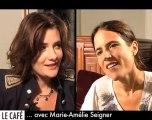 Marie-Amélie Seigner : le Café Serré