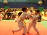 5 décembre 2010 : 1ère compétition de judo de Justin